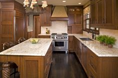 Supreme Kitchen Remodeling Choosing Your New Kitchen Countertops Ideas. Mind Blowing Kitchen Remodeling Choosing Your New Kitchen Countertops Ideas. Dark Oak Cabinets, Oak Kitchen Cabinets, Kitchen Redo, Kitchen Flooring, Kitchen Countertops, New Kitchen, Cheap Kitchen, Kitchen Backsplash, Hickory Kitchen