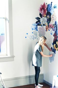 Cool 69 Artsy Wall Painting ideas for Your Home https://roomaniac.com/69-artsy-wall-painting-ideas-home/