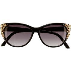 H&M Sunglasses ($12) via Polyvore