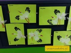 Kindergarten, Art Activities For Kids, Poppies, Art Projects, Birds, Diy Crafts, Autumn, Homemade, Frame