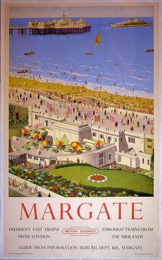 BRITISH TRAIN POSTERS -1950  JUL16