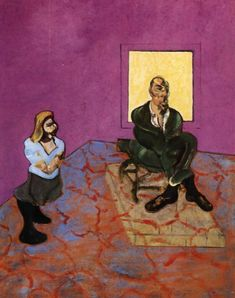 man+and+child+1963 Francis Bacon was an Irish-born British figurative painter known for his bold, graphic and emotionally raw imagery.