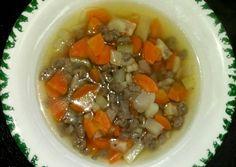 Gluténmentes májgaluska leves