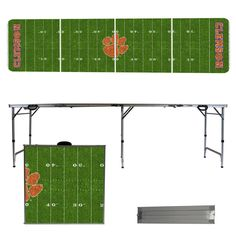 Clemson Tigers Beer Pong Table.