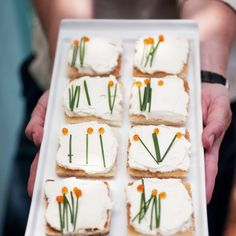 cute tea sandwiches