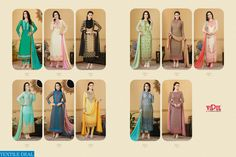 VIPUL D CAT 88 SUPPLIER STRAIGHT LONG EMBROIDERED SALWAR KAMEEZ Catalog pieces: 11 Full Catalog Price: 25729 Price Per piece: 2339 MOQ: Full catalog Shipping Time: 4-5 days Sizes: Semi Stich Fabrics detail Top :- premium Georgette  Bottom & inner :- santoon Dupatta :- chiffon Woek :- Embroidery  #nicecollection  #goodmateriel  #awesomelook Call&Whatsapp;+917405434651 website link :-http://textiledeal.in/wholesale-product/4488/Vipul-D-Cat-88-Supplier-Straight-Long-Embroidered-Salwar-Kameez