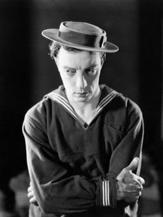 Buster Keaton - publicity shot for The Navigator