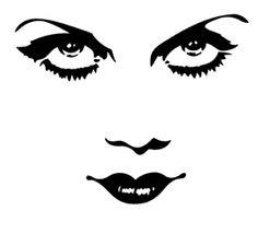 Bette Davis face