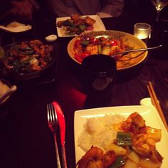 A picture of Prize Dinner, taken by Laura - did you know there's a monthly prize draw for a complimentary dinner for 2 with a bottle of house wine?  Just enter your details through our website www.cocochan.co.uk!