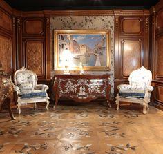 wood floor mosaic whith flower parquet intarsiato  parkett design