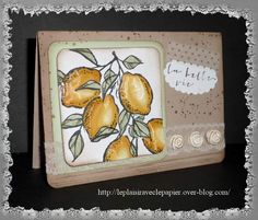 La belle vie- A Happy Thing Stampin' Up!
