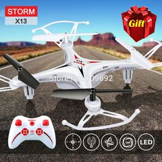 Gratis verzending 100% originele syma x13 storm mini rc quadcopter 2.4g drone 6-axis headless helicopter toys gift vs h22 h21 h8 mini