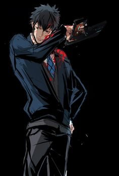 【血注意】嫁。口絵かノベルティの一部で使えたらいいな Anime Nerd, Anime Manga, Anime Guys, Kogami Shinya, Psycho Pass, Dark Anime, Haikyuu, Concept Art, Animation