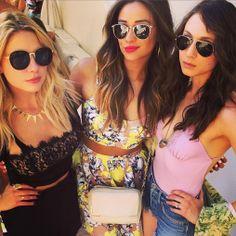 Ashley, Shay and Troian