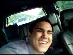 Carlos pena is filming Logan Henderson while he's sleeping!