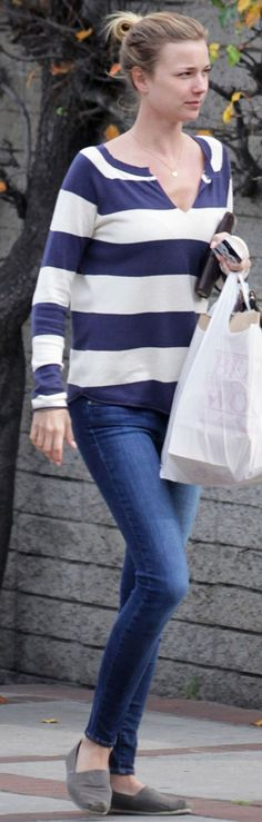 Paige Verdugo Jeans in Benny on Emily VanCamp