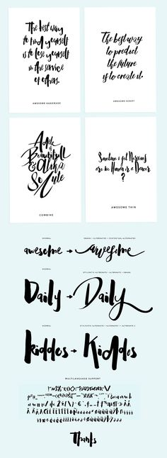 Adele 6 Fonts (70% off) by celcius design on Creative Market