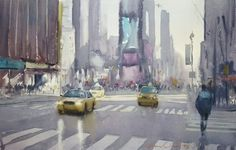 Taxi series, morning light at..you know where! © Frank Eber.