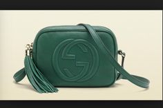 Green Gucci purse