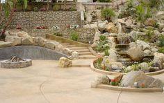Custom Backyard by Davis Concrete - 951-461-7123 - Inland Empire CA