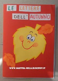 C come castagne , R come riccio , F come foglie ... A come autunno .   Questo semplice libretto aiuterà i bambini a familiarizzare con ...