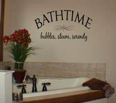 bathtime wall decal bathroom wall decalsquote