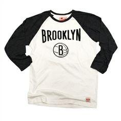 Sportiqe - Men's Brooklyn Nets Atrium Raglan