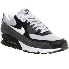 Nike Air Max 90 ($150) ❤ liked on Polyvore featuring mens, men's shoes, men's sneakers, shoes, his trainers and trainers