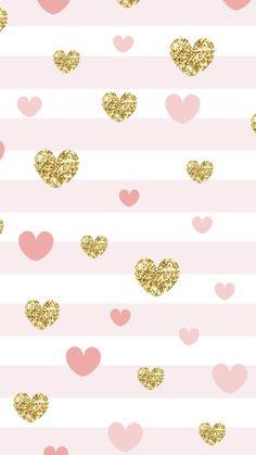 Iphone Wallpaper Vsco, Wallpaper For Your Phone, Heart Wallpaper, Aesthetic Iphone Wallpaper, Pink Wallpaper, Cellphone Wallpaper, Disney Wallpaper, Glitter Wallpaper, Wallpaper Lockscreen