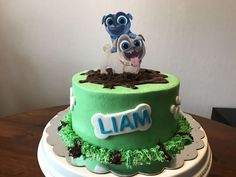 Puppy dog pals cake #NessysBakeShop