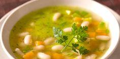 Soupe aux haricots et aux herbes