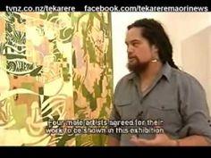 Artist shows his families hardships through painting Te Karere Maori News 29 Jan 2010 Maori Designs, Maori Art, Kiwiana, Visual Arts, New Art, New Zealand, Sculpture, Contemporary, Portrait