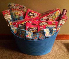 Shopkins easter basket gift baskets pinterest easter baskets shopkins easter basket negle Choice Image
