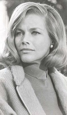 Honor Blackman better known as Pussy Galore