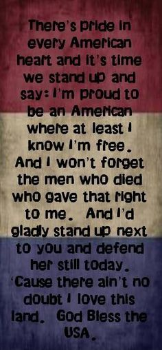 Lee Greenwood lyrics