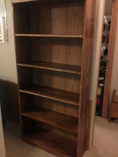 Bookshelf built by OK Custom Furniture.  https://www.facebook.com/pages/OK-Custom-Furniture/627339913946726