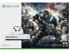 $240 Xbox One S 1TB Console - Gears of War 4 Bundle #Microsoft