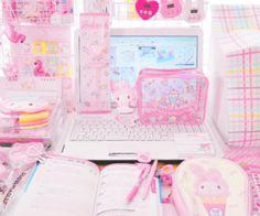 ideas for room decor pastel kawaii Cute Room Ideas, Cute Room Decor, Pastel Room, Pink Room, Girl Bedroom Designs, Room Ideas Bedroom, Kawaii Bedroom, Gaming Room Setup, Gaming Rooms