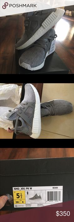Adidas NMD XR1 Brand new with tag in box. Authentic women size 5.5 Adidas Shoes