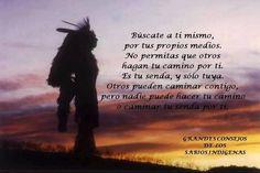 Nadie puede hacer tu camino.....