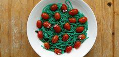 """Pasta """"Marienkäfer im Gras"""" – Schnelle kreative Küche für Kinder"""