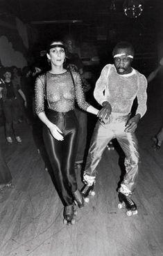Print.........Cher Studio 54.... I'm totally wearing my skates!