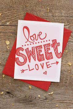 Love Sweet Love – Valentine's Day Printables