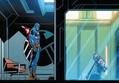 "Just call me your errand boy wonder. — No ""Hey Bucky, how ya been? Dr Marvel, Marvel Jokes, Marvel Dc Comics, Hydra Captain America, Captain America Super Soldier, Secret Avengers, New Avengers, Stan Love, Bucky And Steve"