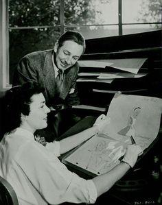 Walt and Lilian Disney