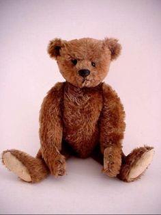 Antique *Steiff Teddy Bear* 12in * Cute! #Steiff