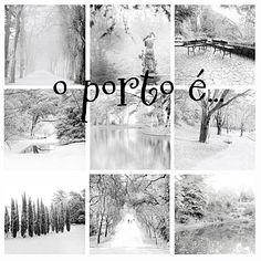 o Porto é... inverno branco