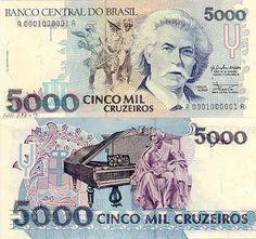 Certamente se você é nascido depois dos anos 90 não chegou a conhecer as notas antigas de Cruzeiro que circulavam antes de chegar o Real.  Em 2016, uma