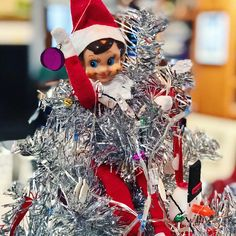 Pirate elf on the shelf complete with chocolate treasure gold coins 20 quick elf on the shelf ideas because who has time for this spiritdancerdesigns