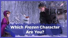 "Which ""Frozen"" Character Are You?  I got Elsa!"